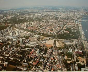 Das Gelände der Parkstadt-Süd.